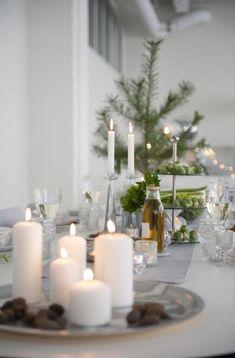 Ideas for the Christmas Table / www.gloriasmood.com