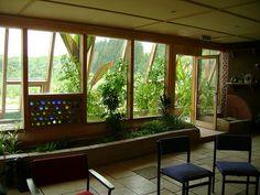 indoor gardening in earthship Earthship Home, Wooden Greenhouses, Green House Design, Greenhouse Plans, Greenhouse Film, Greenhouse Wedding, Garden Wedding, Tadelakt, Gardens