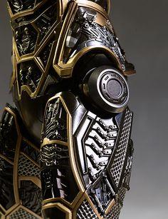 Iron Man Bones detail