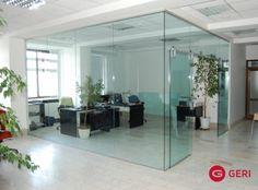 Sklenená stena s posuvnými dverami Oversized Mirror, Divider, Room, Furniture, Home Decor, Bedroom, Decoration Home, Room Decor, Rooms