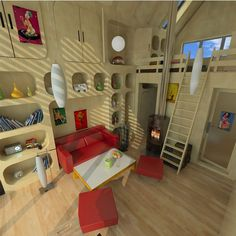 vacation tiny house floor plans