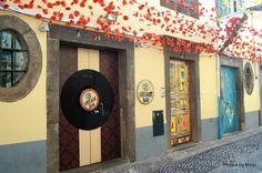 Beautiful doors in Funchal Madeira
