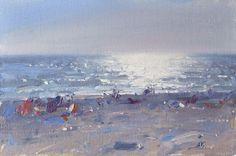 Lena Rivo's Painting Blog: Silver Evening