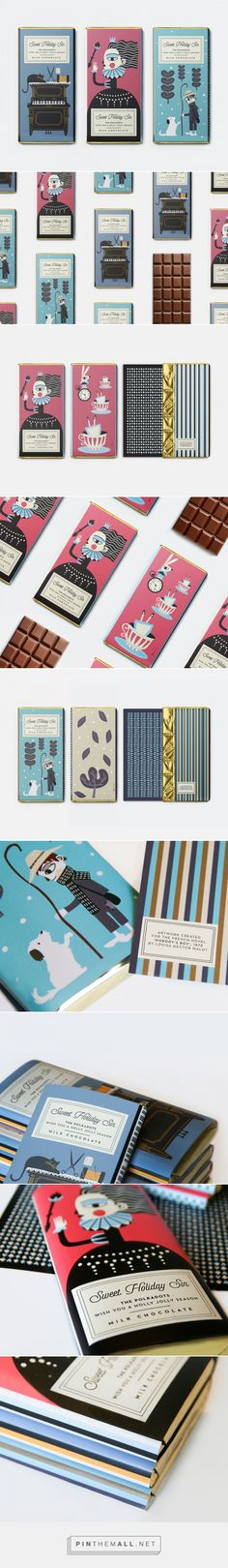 Holiday Chocolate Packaging by polkadot design