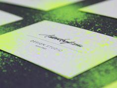 Business Card Customization