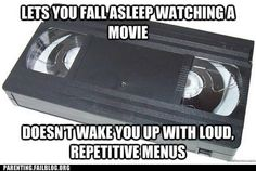 "Classic: Good Guy VHS - Funny memes that ""GET IT"" and want you to too. Get the latest funniest memes and keep up what is going on in the meme-o-sphere. Old Technology, Vhs Tapes, Vhs Dvd, Vhs Cassette, Ol Days, The Good Old Days, A Good Man, Laugh Out Loud, How To Fall Asleep"