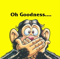 Oh Goodness! It's Monday!! funny days lol monday greetings days of the week monkey weekdays