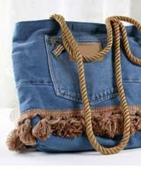 tasche aus alter jeans bag made from old pair of jeans upcycling upcyclingmay2014. Black Bedroom Furniture Sets. Home Design Ideas