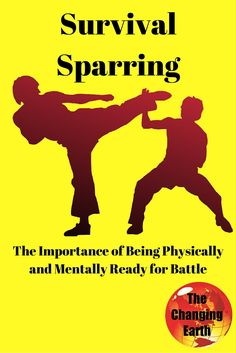 #Survival sparring The topic of the day on The Changing Earth Podcast #SFFBC Hear chapter 20 of Without Land by Sara F. Hathaway and learn why sparring and self defense training is essential for long term survival in a SHTF situation.