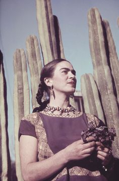 "A ""prettier"" adaptation of Frida Kahlo's self-portrait has been circulating the internet. machine and it's not pretty. Frida's iconic look has been appropriated ever s…"