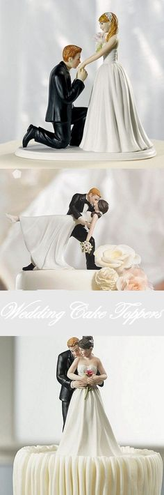 Before you say 'I Do' find the perfect bride and groom cake topper to complement your wedding theme. Bride And Groom Cake Toppers, Bride And Groom Gifts, Wedding Cake Toppers, Bride Groom, Wedding Cakes, Fun Ideas, Party Ideas, Gift Ideas, Wedding Reception