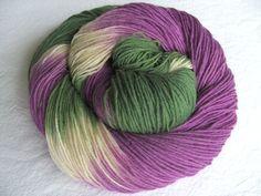 Sockenwolle ♥ Wolle 75% ♥ Handgefärbt von ♥ made-by-aleinung ♥ auf DaWanda.com