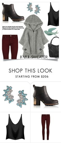 """""""Open Mind"""" by letiperez-reall ❤ liked on Polyvore featuring Stephen Webster, SOREL, Paige Denim, Liebeskind, WALL, polyvoreeditorial, polyvorecontest, fallsweater and polyvorefashion"""