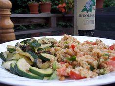 Cordovan Road: Lentil Quinoa Salad