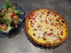 Vinaigrette, Mozzarella, Quiche, Mashed Potatoes, Breakfast, Ethnic Recipes, Food, Pai, Whipped Potatoes