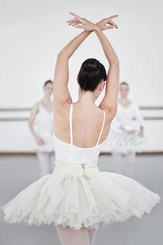 Ballet is the pointe.