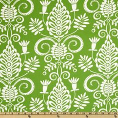 Amazon.com: Michael Miller Christmas Large Whimsy Doozie Lawn Green Fabric