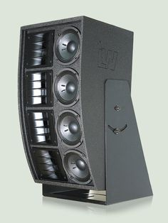 """LW 8103 - A medium/treble screen high power system with Line Array Technology with 4 x 6"""" medium drivers plus 4 x 1"""" compression drivers + 4 x isophasic horns. #Loudspeakers #Soundsystem #Performance #Cinema #Audio"""