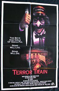 #Halloween Decoration - Terror Train (1980) Original Movie Poster Jamie Lee Curtis, David Copperfield    #Horror #Film #Slasher
