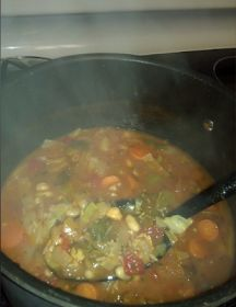 Advocare's 24 Day Challenge: Hearty Minestrone Soup Recipe: