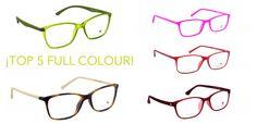 Ya puedes ver las nuevas gafas de Full Colour en Óptica Ifach! #Calpe ¡Las top 5 #gafas #fullcolour de febrero!