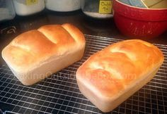 Simply delicious 1 HOUR BREAD recipe. Wonderful slathered with honey and butter straight out of the oven. http://bakingoutsidethebox.com  #bread recipe