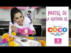 """Pastel de """"GUITARRA DE COCO"""" de Disney Pixar """"COCO"""" - YouTube"""