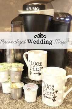 Target Wedding: Be Yourself, Together Easy Homemade Gifts, Sewing Crafts, Diy Crafts, Wedding Mugs, Cool Presents, Let's Create, Engagement Ideas, Homemade Christmas, Silhouette Cameo