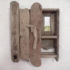 Superieur A Cabinet Handmade From Driftwood.