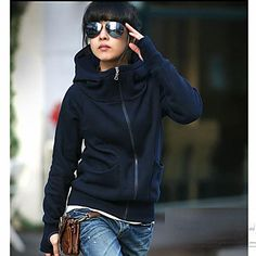 ER Thicken High Neck Coat – CAD $ 16.66