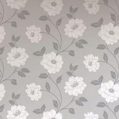 Camilla - Wallpaper - Silver