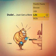 Get a New Life! by Lt Blak, via Behance