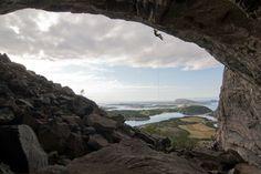 The Hanshelleren Cave in Flatanger, Norway. Fantastic place, awesome landscape.