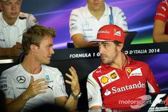 "Rosberg:""You do know that I have like a million points so far don't you?"" Alonso:""I have the fullest confidence you'll manage to blow it no matter what Nico!"""
