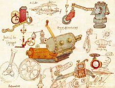 steampunk machine - Google Search