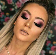 104 fancy makeup tips ideas to look cute any event page 4 Fancy Makeup, Sexy Makeup, Prom Makeup, Cute Makeup, Simple Makeup, Wedding Makeup, Beauty Makeup, Hair Makeup, Hair Beauty
