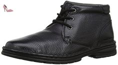Hush Puppies Nash Theron, Boots homme - Noir (Black Leather), 45 EU (10 UK) (11 US) - Chaussures hush puppies (*Partner-Link)