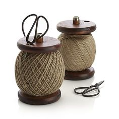 Heritage Twine with Scissors in Gifts We Love | Crate and Barrel