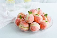 Orange infused sweet ricotta peach cookies are the perfect little dessert, for every spring or summer wedding, party, gathering. Look like real peaches, taste like heaven!