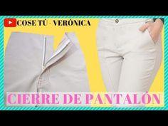 CÓMO COSER CIERRE DE PANTALÓN - YouTube Blouse Designs, Youtube, Diana, Blog, Instagram, Sewing, Dresses, Modeling, Vestidos