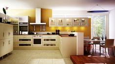 küchendesign ideen bodenfliesen lichtakzente setzen