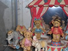 Figures and statuettes  - Cherished Teddies - Cherished Teddies circus