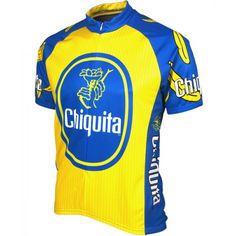 Chiquita Banana Cycling Jersey by Retro