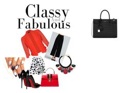 The Class FAB CHIC!!!! by ajrenae07 on Polyvore featuring polyvore fashion style City Chic Christian Louboutin Yves Saint Laurent Gucci Chico's clothing