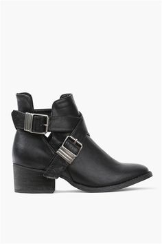 I've been dying to try the cut out bootie trend, and these are only $39!