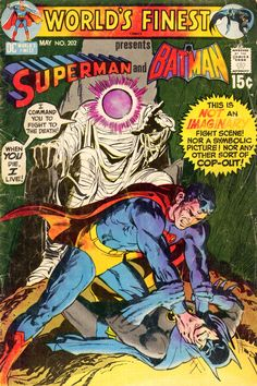 World's Finest Comics #202, May 1971, cover by Neal Adams and Dick Giordano