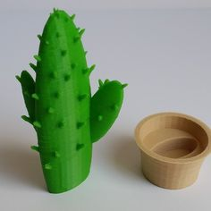 Free Cactus in a Pot 3D model, 3DWithUs