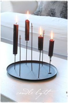 eno multi pin candle holder