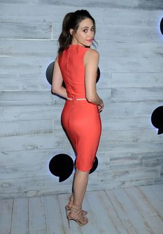 Emmy Rossum - VIP Sneak Peek Of go90 Social Entertainment Platform in LA - 9/24/15