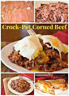 Corned Beef Hash, Brown Sugar, Corn Beef Hash, Crockpot, Sandwiches ...